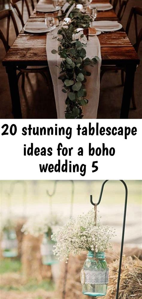 GREENERY RUNNERS 20 Stunning Tablescape Ideas for a Boho