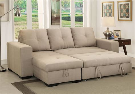 Denton Comfort Sectional Pullout Sleeper Futon Reversible