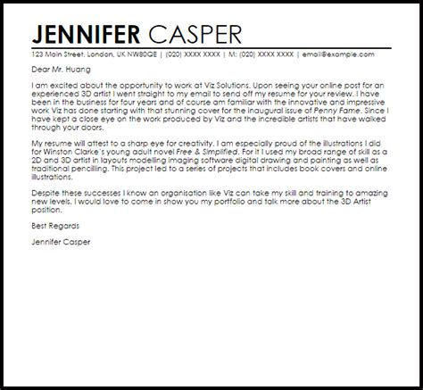 Makeup Artist Cover Letter Sample