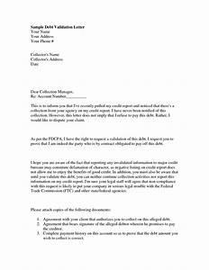 Sample debt validation letter the best letter sample for Validation of debt letter template