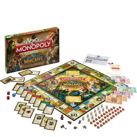 monopoly world  warcraft edition toys zavvi