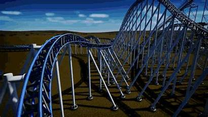 Roller Coaster Rides Rollercoaster Gifs Park Theme