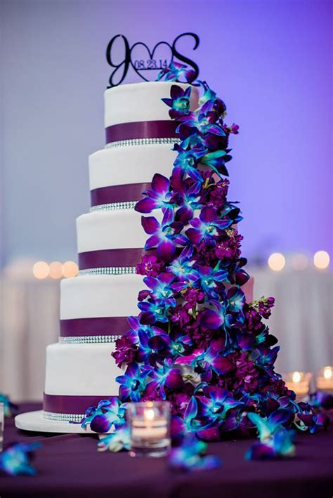 wedding themes blue and purple wedding ideas by colour blue and purple wedding theme