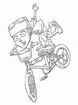 Rocket Power Fun Coloring Pages sketch template