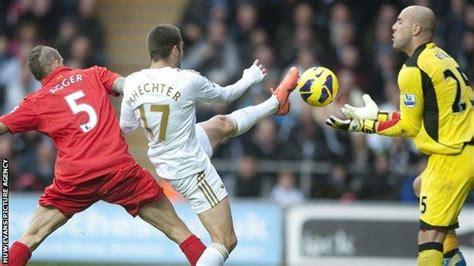 Swansea 0-0 Liverpool - BBC Sport
