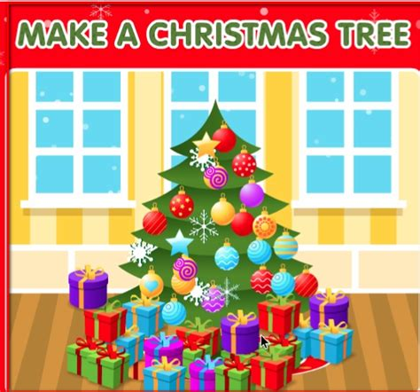 click and drag make a christmas tree kindergarten links arttech k 5 leaders in learning