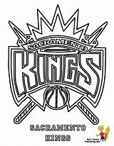 Coloring Kings Sacramento Pages Basketball Clipart Nba Clippers Teams Boy Lakers Clip Los Angeles Dribbling Cliparts Team Getcoloringpages Clipground Library sketch template