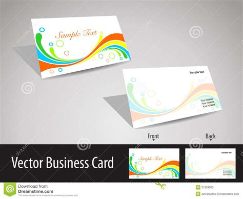Multicolors Wave Theme Visiting Cards Stock Vector Black And Gold Business Cards Vector Box Holder 500 Greeting In Bulk Embossed Bangkok Blank Metal Lined
