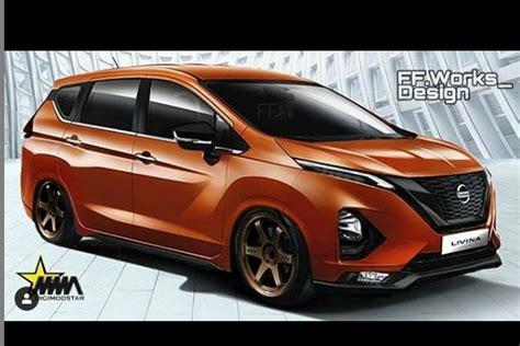 Modifikasi Nissan Livina by Modifikasi Digital Bikin All New Livina Lebih Agresif