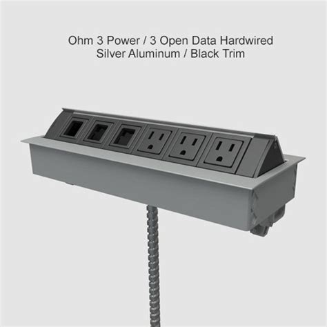 ohm desk outlet cableorganizer