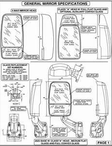 Velvac Mirror Wiring Diagram Part Numbers