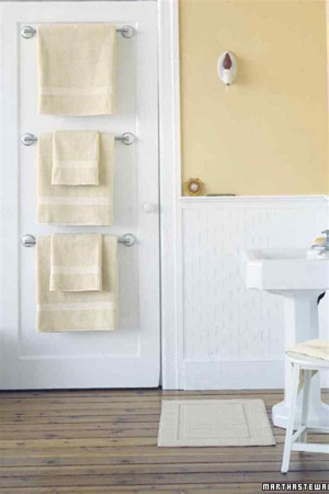 Towel Rack Ideas For Small Bathrooms by 7 Ways To Add Storage To A Small Bathroom That S Pretty