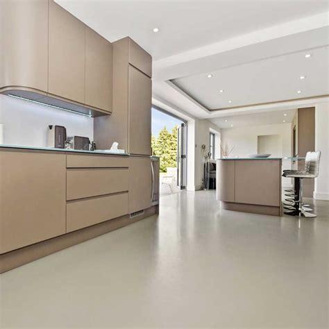 Residential Resin Comfort Floor, Westerham   Poured resin