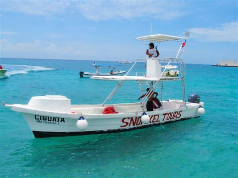 Glass Bottom Boat And Snorkeling by Cozumel Parasailing Adventure Cozumel Cruise Excursions