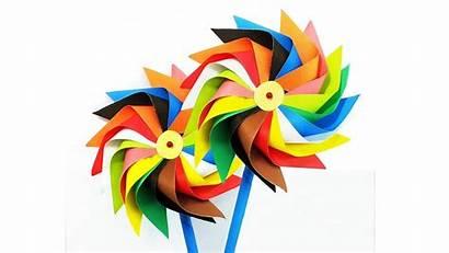 Windmill Paper Making Tutorial Spins