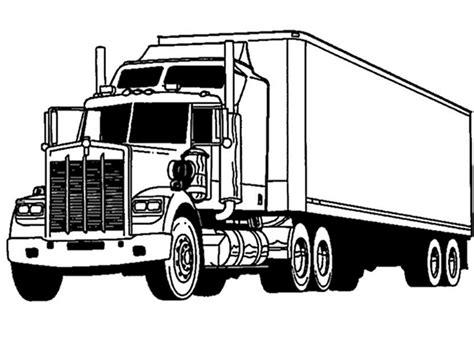 Truck Coloring Pages Garbage Coloringstar Grig3org