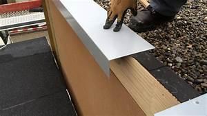 Dachpappe Bei Obi : montage mauerabdeckung gehrung youtube ~ Michelbontemps.com Haus und Dekorationen