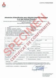 Certificat De Conformité Mercedes : certificat de conformit europ en mitsubishi coc commandez votre certificat de conformit c o ~ Gottalentnigeria.com Avis de Voitures