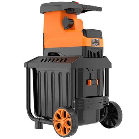 tacklife garden shredder shredders robust particularly gardening making brand diy don quality