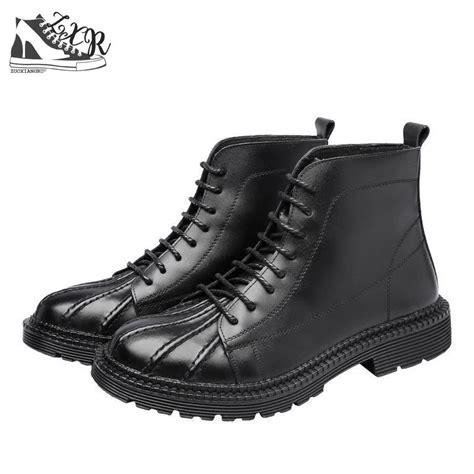 Autumn Winter New Men Boots British Wind Retro