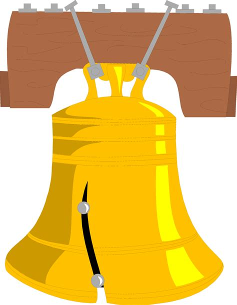 Liberty Bell Clipart Liberty Bell Free Stock Photo Illustration Of The
