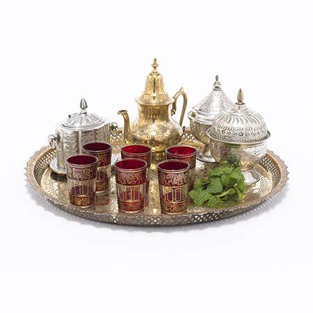 deluxe maroc tea set imports  marrakesh
