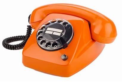 Retro Telephone Telefoon Oranje Phone Telefono Arancio
