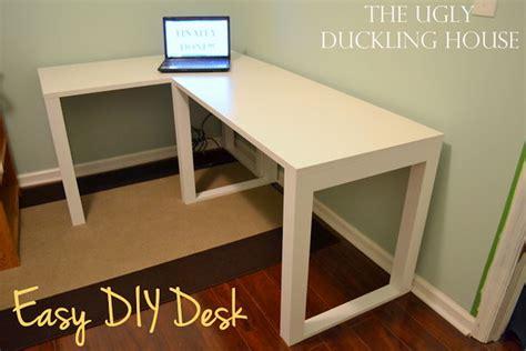 diy l shaped desk ikea 15 diy computer desk ideas tutorials for home office