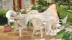 Salon De Jardin Plastique : entretenir le mobilier d 39 ext rieur en plastique entretenez et embellissez votre jardin avec mr ~ Teatrodelosmanantiales.com Idées de Décoration