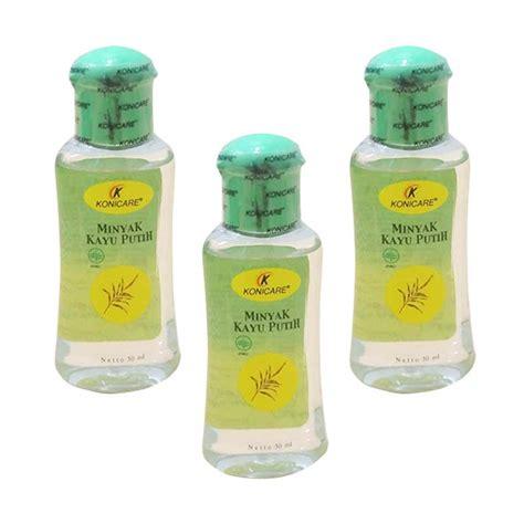 jual konicare minyak kayu putih 30 ml 3 botol harga kualitas terjamin blibli