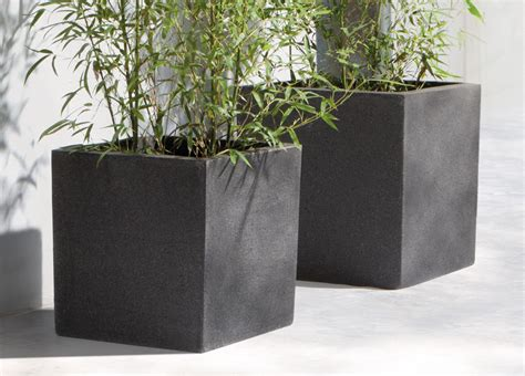 Square Outdoor Planters by Manutti Square Planter Modern Planters From Manutti