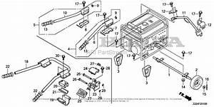 Honda Eb5000xk3 At1 Generator  Chn  Vin  Ebpc