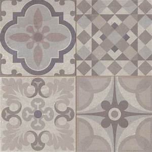 carrelage style ciment gris taupe skyros 44x44 cm as de With carreau ciment gris