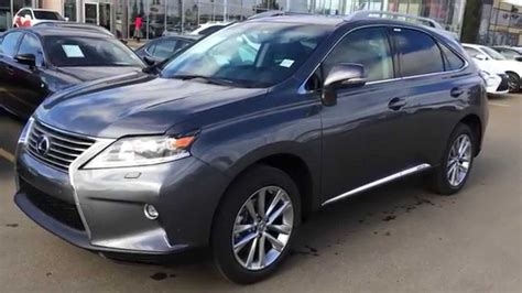New Grey 2015 Lexus Rx 450h Hybrid Awd Technology