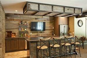 Bar De Maison : des id es de bar moderne pour votre maison bricobistro ~ Teatrodelosmanantiales.com Idées de Décoration