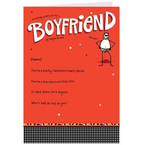Cute Birthday Card Quotes Boyfriend