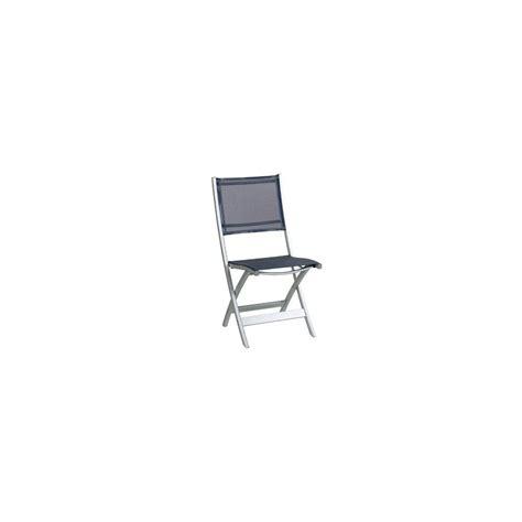 chaise pliante aluminium textilene chaise pliante en aluminium et textilène gris anthracite plantes et jardins