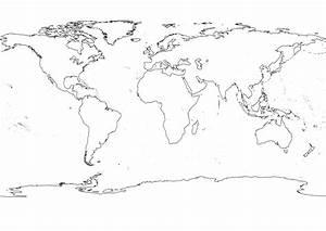 Black White World Map | Julie | Pinterest | Outlines ...