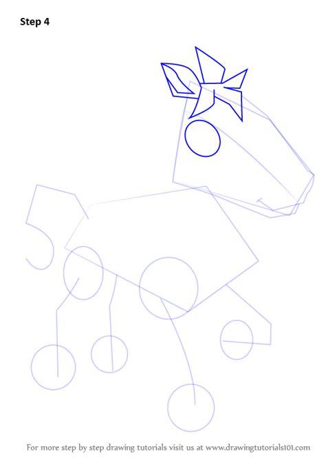 learn   draw horse  animal jam animal jam step