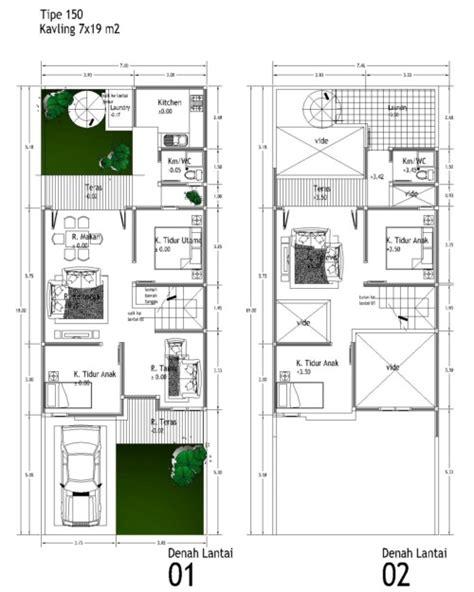 contoh gambar sketsa rumah minimalis sederhana terbaru