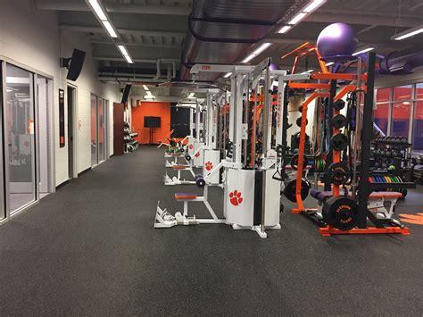 clemson basketball weight room power lift