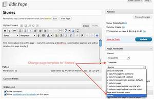 how to add posts to pages in wordpress tutorial With if page template wordpress