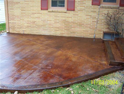 concrete sting cost different types of stained concrete patio dawndalto decor