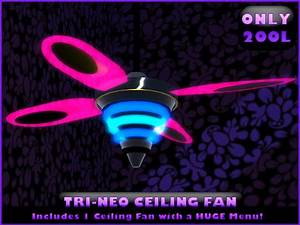 Neon Light Ceiling Fan – Blog Avie