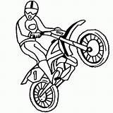 Coloring Bike Pages Dirt Preschool Motorcross Motocross Biker Dirtbike Motorcycles Thecolor Motorcycle sketch template