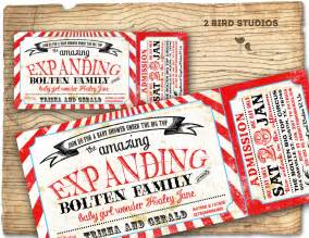 Baby Shower For Couples Invitations by Circus Baby Shower Invitation Carnival Baby By 2birdstudios
