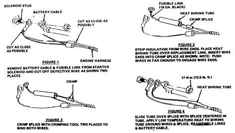 repair guides circuit protection fusible links