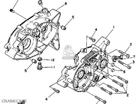 yamaha rx50 50special 1983 d usa parts list partsmanual
