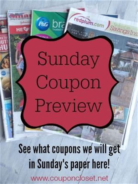 19933 Redplum Coupons Sunday Paper by Sunday Coupon Preview February 26th Smartsource Redplum