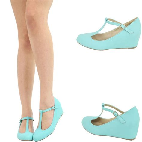 Gosh Flat With High Wedges coral pink t ankle high heel platform
